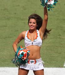 Miami Dolphins Cheerleaders (sdobson_37) Tags: cheerleaders miami dolphins rams2012