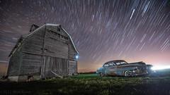 composite night barn cornfield nikon exposure cadillac astrophotography f28 startrails leonids d600 rochelleil 1424 startrailsexe 1424f28 torcwori