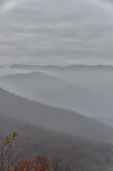 Misty Mountains (Dan:Brown) Tags: mountains virginia gg nik blueridgemountains lr4 d7000