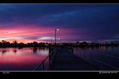 first light (Georgie Sharp) Tags: morning blue light dawn jetty first foreshore