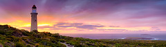 Cape du Couedic - Explored (Damien Seidel) Tags: sky panorama lighthouse seascape clouds sunrise landscape dawn amazing australia panoramic southaustralia kangarooisland lightstation capeducouedic