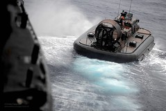 Royal Marine Hovercraft (Defence Images) Tags: uk boat mediterranean exercise military free equipment british landingcraft cougar defense defence amphibious hovercraft royalnavy lcac royalmarines