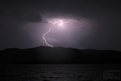 Lightning on the Lake