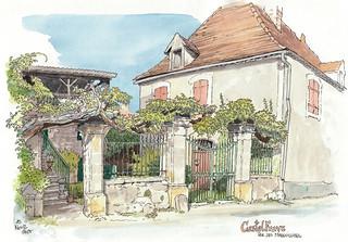 Castelfranc, rue des Marguilliers