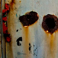 porte rouille (fransje 2103) Tags: door november blur square rust flickr colours decay porte schiedam rouille carre danslarue 500x500