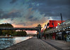 Canal de l'Ourcq (YourCCDA) Tags: bridge sunset urban paris water architecture river de canal hdr lourcq parcdelavilette ccloud platinumheartaward mygearandmebronze christophecloud