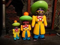 The Three Android 15s (ridureyu1) Tags: anime toy toys actionfigure flask db midget dragonball dragonballz android killerrobot goku greenhat saiyan dbz dragonballgt songoku dragonballs akiratoriyama toyphotography android15 dbgt purplepimp jfigure yellowsuit drgero gokou redribbonarmy racialcaricature sonycybershotdscw220 powerlevels superandroid13 purplepimpbot thethreeandroid15s