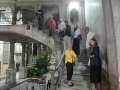 Fellow travelers at La Guarida (eszter) Tags: travel restaurant havana cuba trips 2012 nov12 paladar p365 laguarida proejct365 p36583 project365111312 project3651113