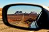 Rear View Monument Valley (Jeff Clow) Tags: road landscape mirror utah monumentvalley milemarker13 tpslandscape
