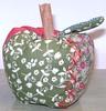 Maçãs para Decoração (Mayra - Maçã de Patch) Tags: de patch patchwork jogo almofada gatinho maçã americano galinhas