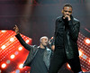 Aston Merrygold and Jonathan 'JB' Gill of JLS Cheerios Childline Concert 2012 held at the O2 Arena