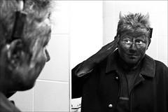 devil (I.Dostál) Tags: blackandwhite bw white black canon mirror blackwhite day bn nicolas devil cb 30d blackandwhiteonly