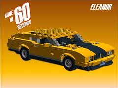 Eleanor - Gone in 60 Seconds - 1974 (lego911) Tags: