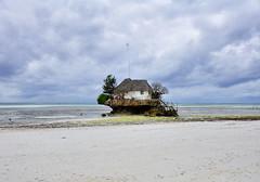 The Rock Restaurant, Zanzibar (Rod Waddington) Tags: ocean africa beach rock island restaurant indian zanzibar