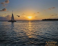 A sunset as seen from Mallory Square in Key West (PhotosToArtByMike) Tags: sunset gulfofmexico waterfront florida historic fl keywest floridakeys mallorysquare monroecounty