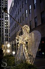 Festive NY Angel by the Rockerfeller Center2- (Singing With Light) Tags: city nyc november ny angel festive photography pentax manhattan horn 2012 k5 jjp singingwithlight herald2012jjpk5nynycnovembersingingwithlightcityfestivemanhattanpentaxphotography