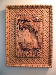 Wood Carving (RTru62) Tags: art hawaii polynesia artist mask carving palm relief hawaiian tropical tiki woodcarving basswood warcanoe polynesian