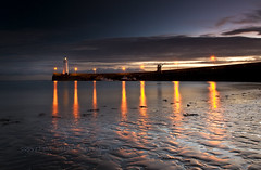 Harbour Lights (RonnieLMills) Tags: county ireland lighthouse clouds reflections lights sand nikon harbour down northern tamron donaghadee 1024 d90 greatphotographers stunningskies mygearandme mygearandmepremium mygearandmebronze mygearandmesilver mygearandmegold mygearandmeplatinum mygearandmediamond greaterphotographers greatestphotographers ultimatephotographers