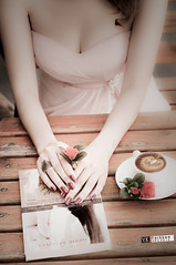 Hng thm (Yarkken Photograhy) Tags: love coffee fashion cafe think style vote capucino suynghi ddcteam huongtham hngthm