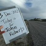 "Today is for John Roberts <a style=""margin-left:10px; font-size:0.8em;"" href=""http://www.flickr.com/photos/59134591@N00/8246338063/"" target=""_blank"">@flickr</a>"