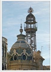 Valencia, Spanien - Post und Telegrafenamt