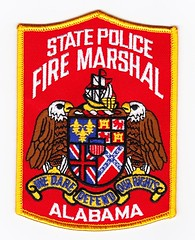 AL - Alabama State Fire Marshal (Inventorchris) Tags: fire countryside office al cops state district alabama police cop law enforcement patch marshal protection patches department township waubonsee