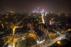 Macau cityscape (maxunterwegs) Tags: china road street longexposure skyline cityscape casino rua macau rue hdr chine macao lighttrail kasino photomatix tonemapped strase tonemapping grandlisboa ruadoviscondepacodearcos sofitelmacauatponte16 sofitelmacau avenidadaalmeidaribeiro