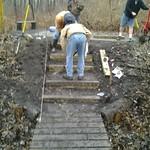 steps on 16