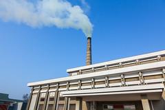 Hungnam Fertiliser Complex - Hamhung (Tom Peddle) Tags: chimney factory smoke north korea stack korean pollution complex dprk fertiliser hamhung