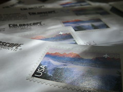 Yosemite stamps (little_scrote73) Tags: california holiday stamps events postoffice places yosemite postcards usps airmail