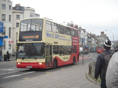 PK02 RFF (Route 49) at St Peter's Place, Brighton (Mr MPD) Tags: brighton route49 stpetersplace brightonandhovebuses pk02rff
