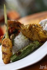 Nasi Campur Bali (Jareeeeek) Tags: bali food chicken indonesia yummy rice traditional delicious fancy bandung foodphotography