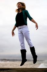 16/365 (KatieMackPhotography) Tags: ocean beach girl waves floating levitation 365 atlanticocean katiemackphotography