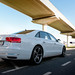 "2012 Audi A8L W12 rear threequarter.jpg • <a style=""font-size:0.8em;"" href=""https://www.flickr.com/photos/78941564@N03/8289239242/"" target=""_blank"">View on Flickr</a>"