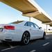 "2012 Audi A8L W12 rear threequarter.jpg • <a style=""font-size:0.8em;"" href=""https://www.flickr.com/photos/78941564@N03/8289239242/"" target=""_blank"">View on Flickr</a>"
