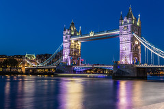 Tower Bridge Long Exposure (Davestarling) Tags: canon1740mmf4l canon6d uk london towerbridge water thames londonbridge longexposure
