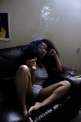 Kaci II ([Sharp]) Tags: girl smoke smoking weed tree 420 maryland dc washington virginia dmv model portrait comfortable relaxed womabn woman pretty curl curtls curls melanin brown black 2016
