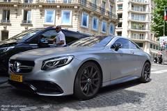Mercedes S63 AMG Coup (Monde-Auto Passion Photos) Tags: auto paris france gris mercedes automobile mat coup classe amg