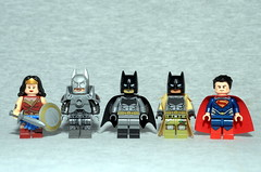 DC Figbarf #4: BvS (Evgenion) Tags: lego custom minifigures minifigs figures figs film movie batman v vesus superman dawn of justice wonder woman armored nightmare moc super heroes superheroes dc comics extended universe dceu dark knight  brick forge warriors brickforge brickwarriors