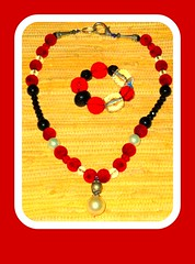 Facebook photo (PAMS TOUCH ART JEWELRY DESIGNS) Tags: picmonkey red hot jewelry by pams touch art jewerly