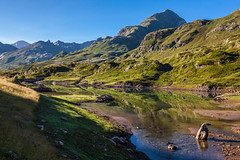Barrage d'Ossoue (Laurent Moose) Tags: pyrenees pyrenen see berge spiegelung