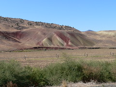 042-04 2007 USA Tour, Oregon, John Day Fossil Beds, Painted Hills Unit (Aristotle13) Tags: 2007 usa tour oregon paintedhills