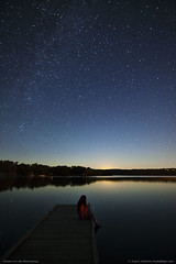 Starlight before Moonrise (Greg from Maine) Tags: nightsky starlight lakewassookeag dextermaine maine dreaming stars nature landscape moonlight child mystical reflections