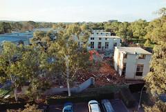 Frame 18-3.jpg (njcull) Tags: 35mm 400 504410 c41 canberra canoneos33 ef1740mmf4lusm film focal focal400 owenflats lyneham australiancapitalterritory australia demolition