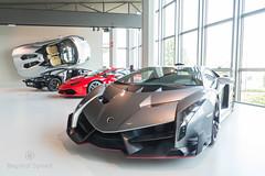 Museo Lamborghini (Beyond Speed) Tags: lamborghini veneno huracan aventador roadster supercars supercar automotive automobili nikon v12 v10 italy museolamborghini