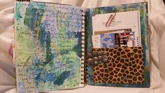 I love going through old journals, finding things tucked into pockets like tickets from concerts, notes from friends and more. #mixedmedia #artjournal (JavaJunkieKrista) Tags: artjournal mixedmedia