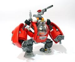 Duplon Marauder 04 (chubbybots) Tags: lego duplo mech