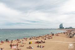 La Barceloneta (andrea.prave) Tags: barcellona catalogna spagna espana catalua catalonha reinodeespaa espaa hispania spain catalunya spanien espagne labarceloneta barceloneta mare sea  mar meer   mer worldtradecenter beach spiaggia playa plage strand