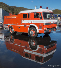 1972 Ford D600 Fire Engine (111 Emergency) Tags: lowerhutt wellington newzealand nz ford d600 fire engine appliance pump paihia