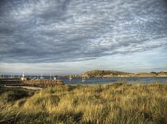 Braye Bay on Alderney (neilalderney123) Tags: 2016neilhoward alderney braye landscape water clouds olympus
